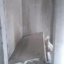 ajtóvágás erősen vasalt betonban