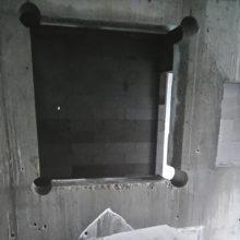 ablakvágás vasbetonban